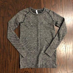 Lululemon Rest Less Pullover, size 6.